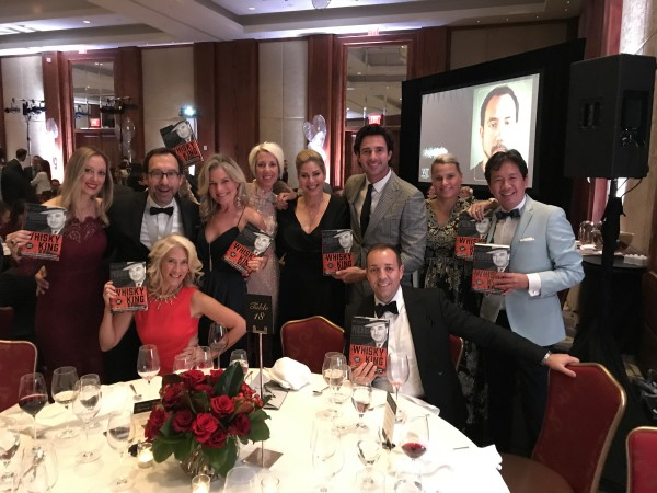 Trevor Cole and friends at the 2017 Writers' Trust Gala
